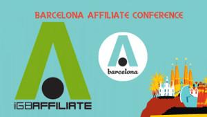 Logo de Barcelona Affiliate Conference 2014, que tendrá lugar en CCIB del Fórum